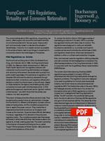 100 Days - FDA Regulations, Virtuality and Economic Nationalism